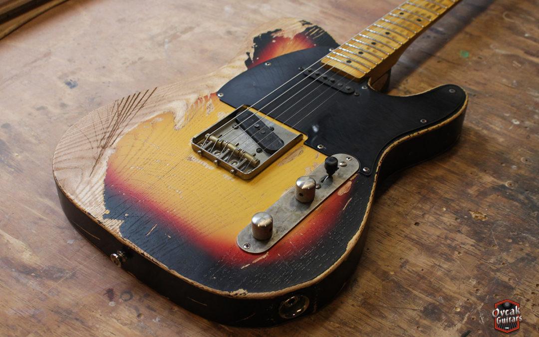 "David Gilmour Esquire ""Workmate"" 1955 Replica"