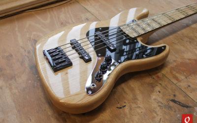 Jazz Bass Elite V style