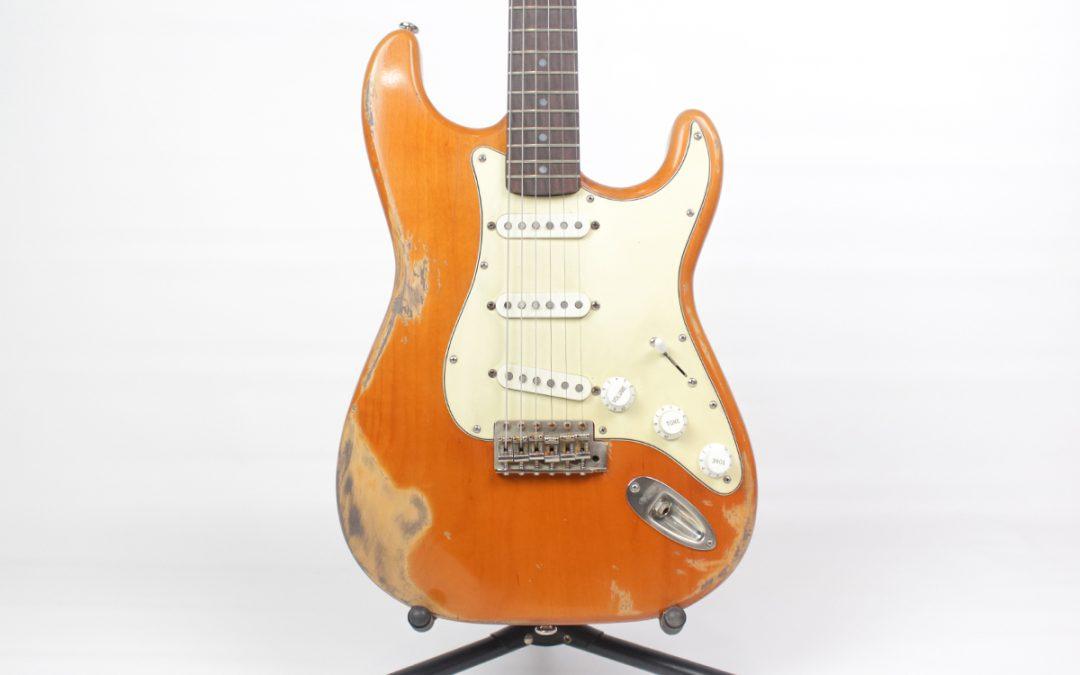 Stratocaster ST BASE Alder + Maple + Rosewood